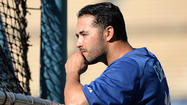 Calf tightness forces Andre Ethier out of Dodgers' lineup