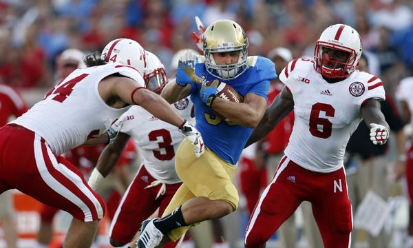 Steven Manfro's blocking skills could lead to an increase in playing time for the UCLA sophomore running back.