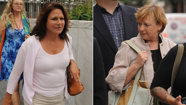 "Donna Bello, left, and Jill Platt, right, were sentenced to prison for their roles in a ""gifting table"" Ponzi scheme."
