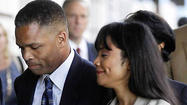 Photos: Jesse Jackson Jr. and Sandi Jackson sentencing day