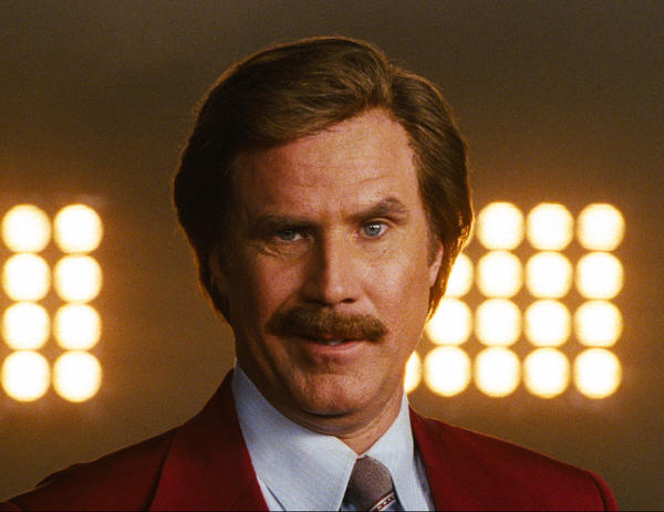 'Anchorman's' Ron Burgundy