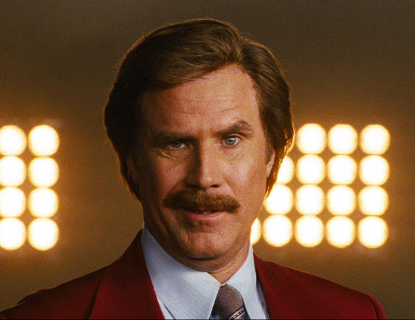 "Ron Burgundy will publish a memoir in time for ""Anchorman 2."""
