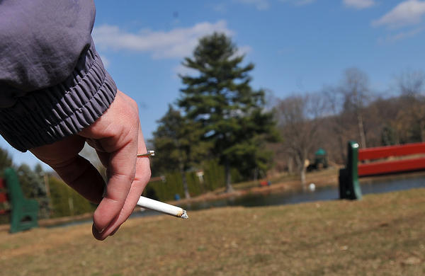 Lehigh Township Supervisors on Tuesday adopted a tobacco-free policy in township parks.
