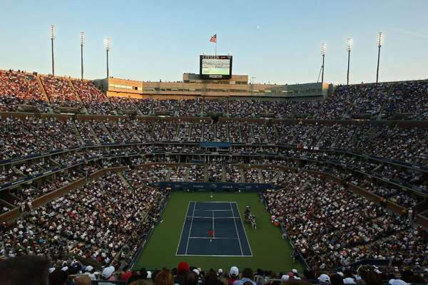 Arthur Ashe Tennis Stadium in 2008.