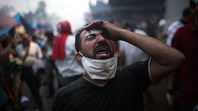 Egyptian security forces clear pro-Morsi protests - Cairo