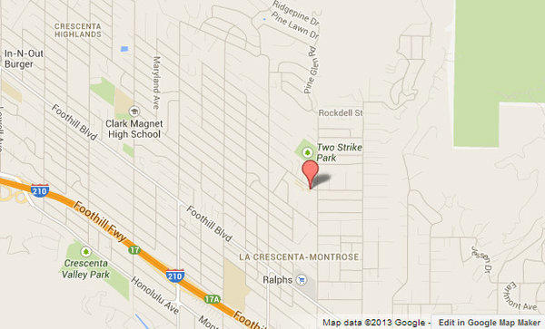 A mountain lion was spotted near a parking lot at Monte Vista Elementary School.