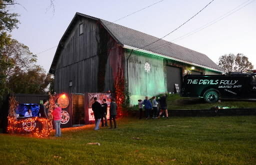The owner of the Devil's Folly haunted barn in Salisbury is unsure whether he'll be able to open this October.