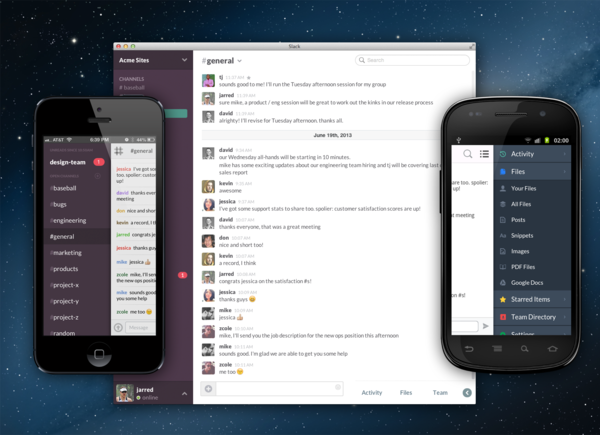 Flickr cofounder Stewart Butterfield has unveiled a new service called Slack that aims to eliminate the need for company email.