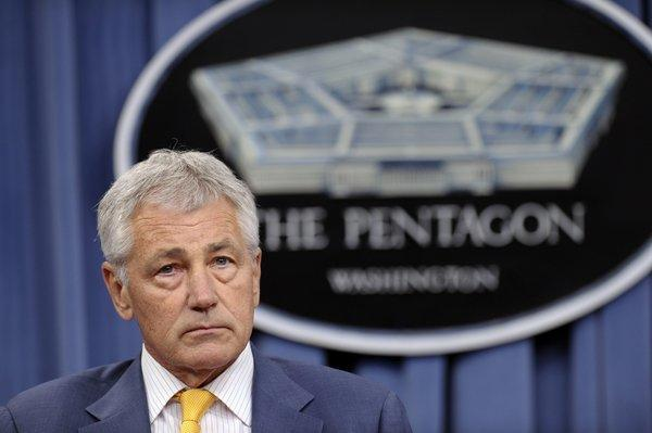 Defense Secretary Chuck Hagel said in a memo that the requirement that same-sex couples be married to obtain military benefits was backed unanimously by the Joint Chiefs of Staff.