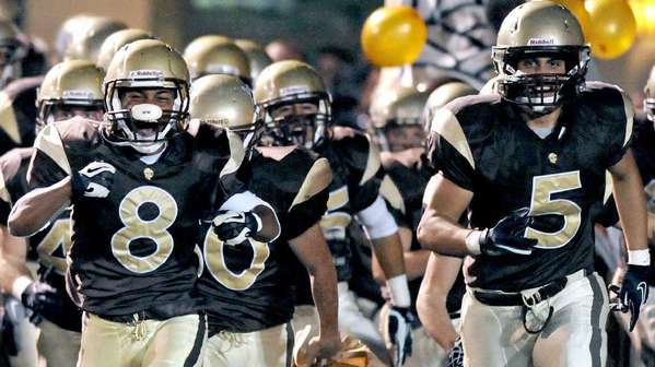 File Photo: The St. Francis High football team faces a tough, uncertain schedule in 2013, as the Golden Knights look to rebound from a 4-7 season.
