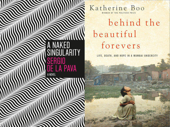 "Sergio de la Pava, author of ""A Naked Singularity,"" and Katherine Boo, author of ""Behind the Beautiful Forevers,"" are two winners of the 2013 PEN Awards."