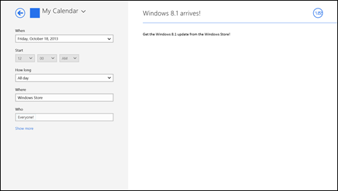 Windows 8.1 will launch nearly one year after the release of Windows 8.