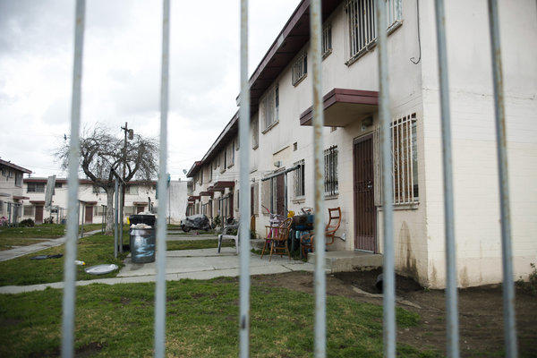 Jordan Downs is one of the oldest housing projects in Los Angeles. It was built as a temporary shelter for factory workers during World War II and became public housing for the poor in the 1950s.