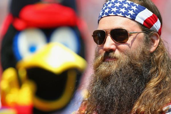 "Willie Robertson of the television show ""Duck Dynasty."""