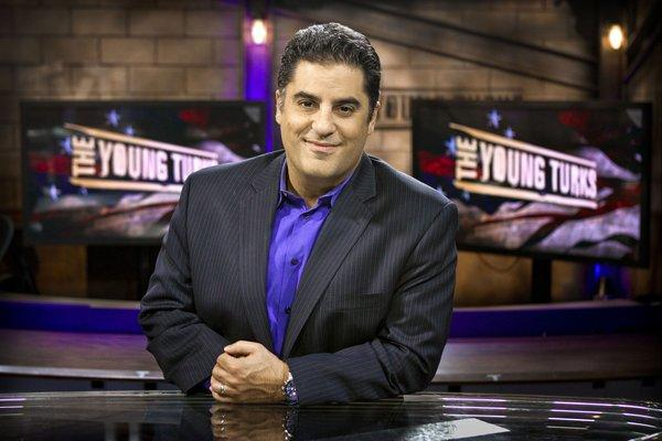 Cenk Uygur, photographed at Current TV.