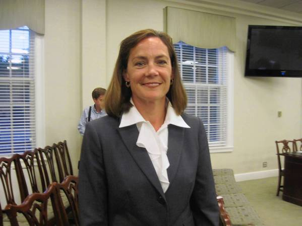 Kathleen Gargano is Hinsdale's first female village manager.
