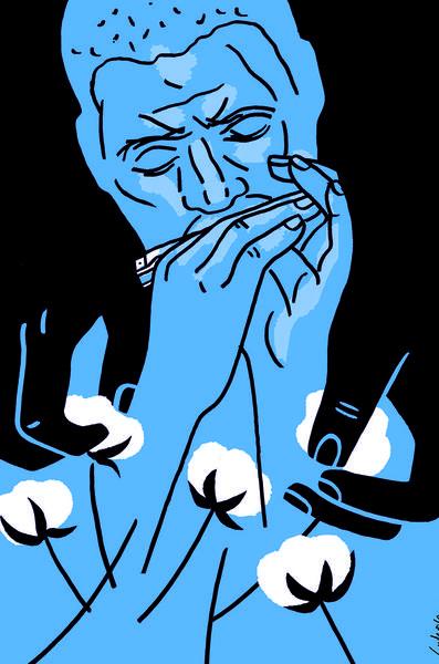 """""""Delta Blues"""" by Luba Lukova."""