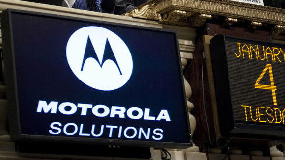 Motorola Solutions Inc. at the New York Stock Exchange Jan. 4, 2011, when it began trading as an independent entity.