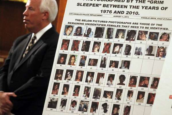Victims of the so-called Grim Sleeper serial