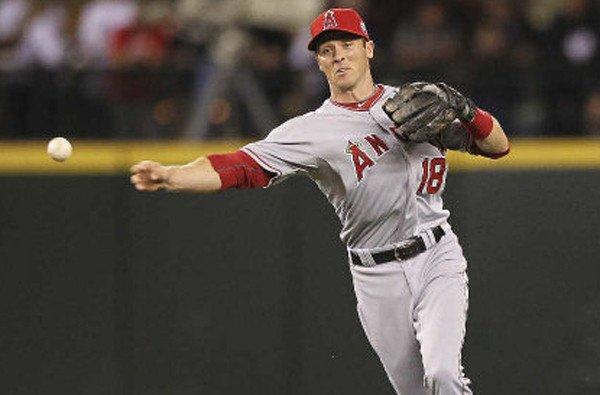 The Angels have recalled shortstop Andrew Romine, who will start Wednesday night in place of the injured Erick Aybar.