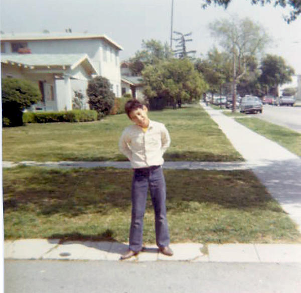 Bryan Ortega spent his early years on Walnut Drive, in a house that gave way to the Glendale (2) Freeway. He was living at 445 West Oak Street when this photo was taken in the mid-1970s.