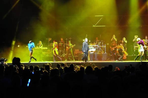 KC and the Sunshine Band perform at Musikfest Thursday, August 8th, 2013 in Bethlehem, Pennsylvania.