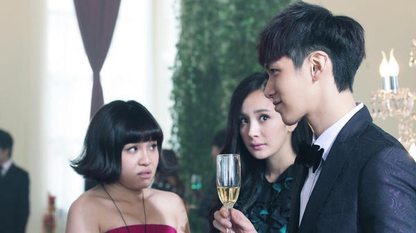 "Amber Kuo, Xie Yi-lin, Mini Yang and Kai Ko in ""Tiny Times 2."""