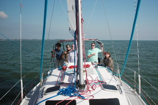 Photo courtesy of Bill O'Donovan A new skippered sailboat company is running charters out of Yorktown and Gloucester Point. Owner Bill O'Donovan and crew are offering a variety of excursions.