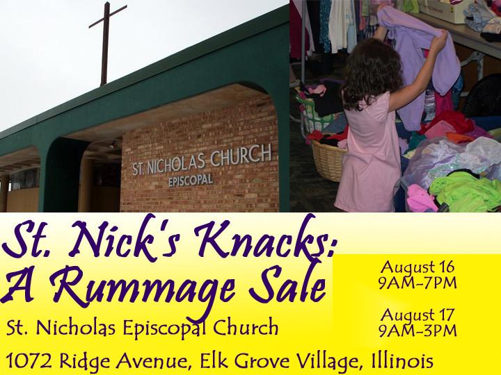 st nick 39 s knacks a huge church rummage sale chicago tribune. Black Bedroom Furniture Sets. Home Design Ideas