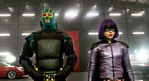 "Aaron Taylor-Johnson and Chloe Moretz star in ""Kick-Ass 2,"" which has a shot at No. 1 at the box office this weekend."