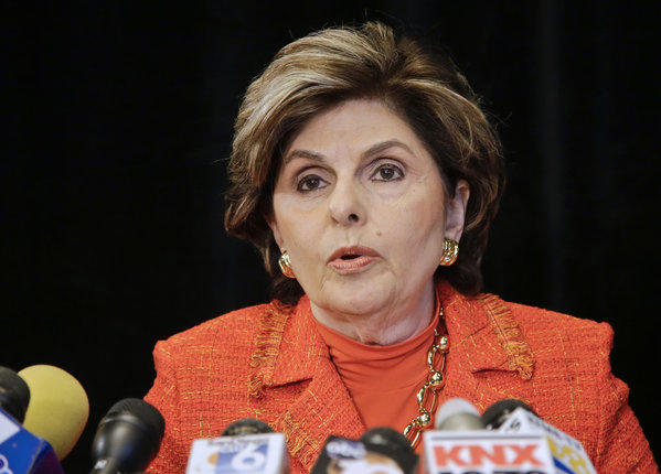 Attorney Gloria Allred announcing last month a sexual harassment lawsuit against San Diego Mayor Bob Filner on behalf of Filner's former director of communications, Irene McCormack Jackson.
