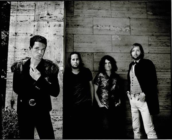 The Killers will perform Friday, Aug. 16, at Hard Rock Live in Orlando.