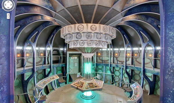 "TARDIS, the ship from ""Doctor Who,"" is now viewable on Google Street View."
