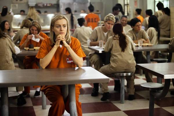 "Taylor Schilling in ""Orange is the New Black."""