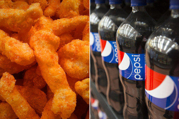 Pepsi-flavored Cheetos
