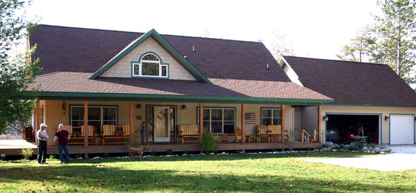 Blum's Landing, a bed and breakfast located near Millersburg in Presque Isle County, offers free retreats for veterans of the Iraq and Afghanistan wars.
