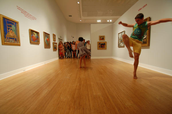 A past performance by the Laguna Dance Festival at the Laguna Art Museum.
