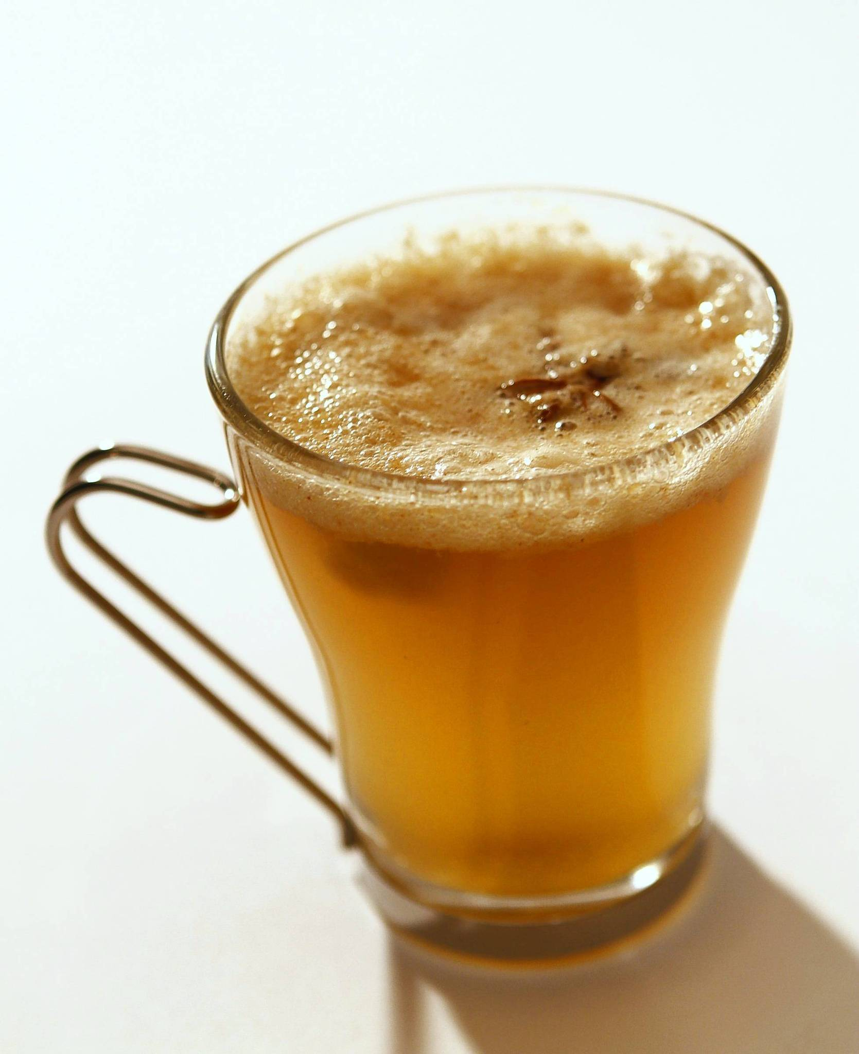 Le Ka's hot banana buttered rum, created by Andrew Parish. Recipe.