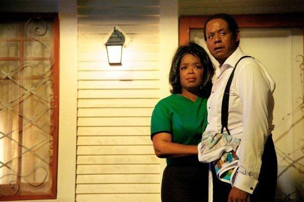 "Oprah Winfrey and Forest Whitaker in ""Lee Daniels' The Butler."" ""It's a story of a family torn apart by history,"" writer Danny Strong said."