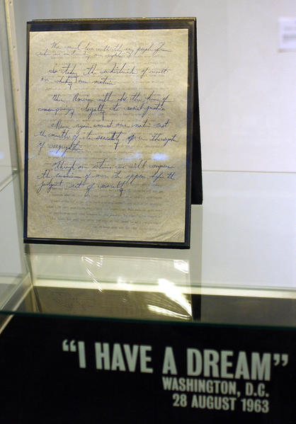 i have a dream speech information Martin luther king jr's 'i have a dream' speech is the most famous portion of the august 28, 1963, march on washington for jobs and freedom.