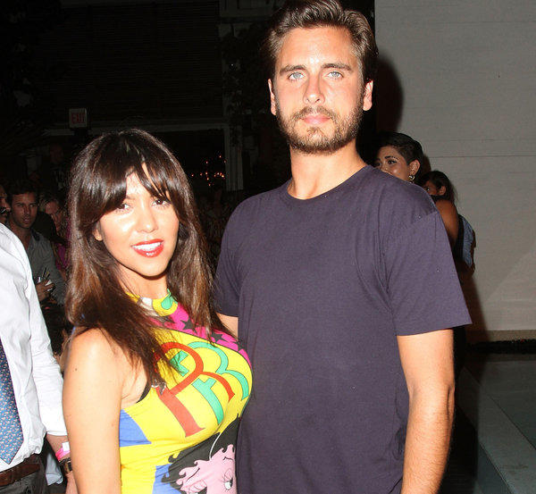 Kourtney Kardashian has denied paternity rumors that longtime boyfriend Scott Disick is not the father of her son Mason.