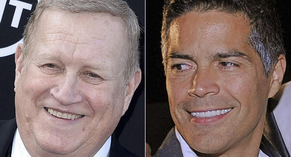 Ken Howard (left) and Esai Morales (right) squared off in the first presidential election at SAG-AFTRA.