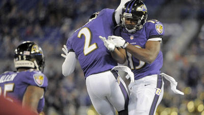 Mellette continue to be a bright spot for Ravens receivers