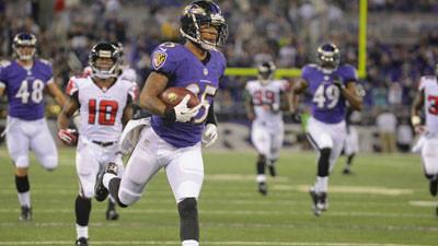 Asa Jackson gives the Ravens something positive