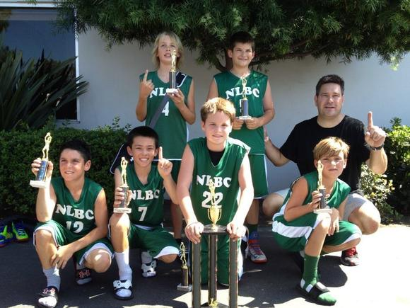"The Newport Lightning Basketball Club 10U Black team won the ""World Championships"" tournament."