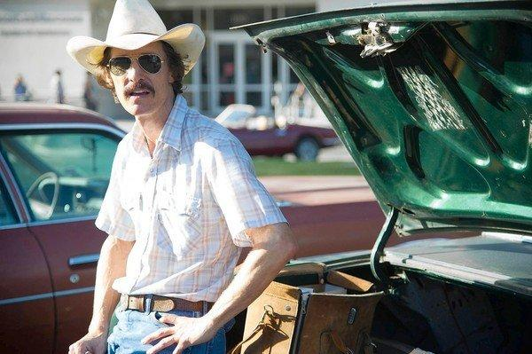 "Matthew McConaughey in ""The Dallas Buyers Club."""