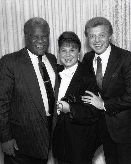Eydie Gorme with Chicago Mayor Harold Washington