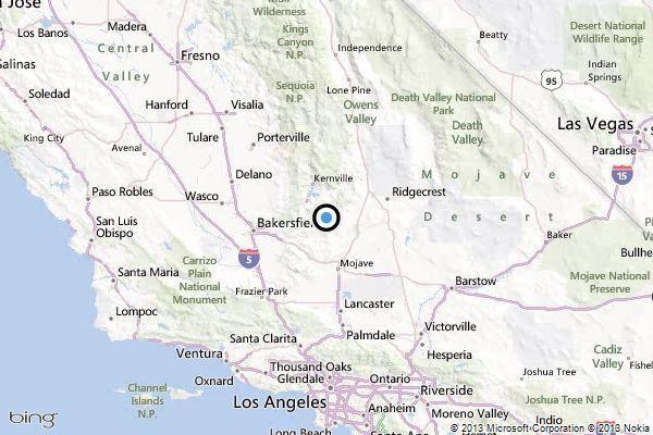 Earthquake: 3.3 quake strikes in Kern County