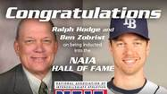 Olivet's Ralph Hodge and Ben Zobrist to receive NAIA's highest individual honor