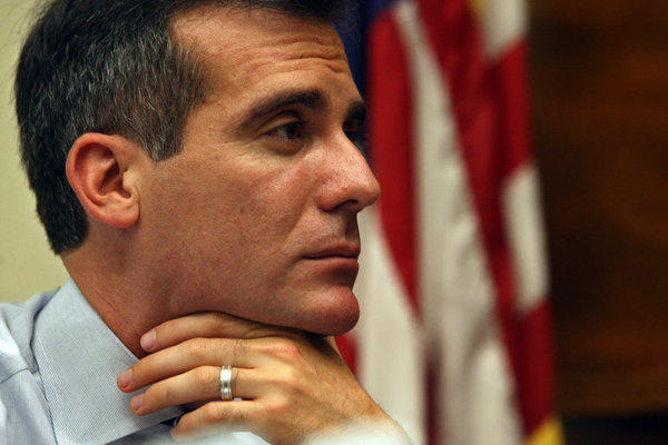 Los Angeles Mayor Eric Garcetti has made a burst of new appointments this week, announcing picks for the DWP commission, the airport commission, the fire commission and the Board of Police Commissioners.
